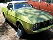 1973 Ford Ford Mustang Base Convertible 2-Door
